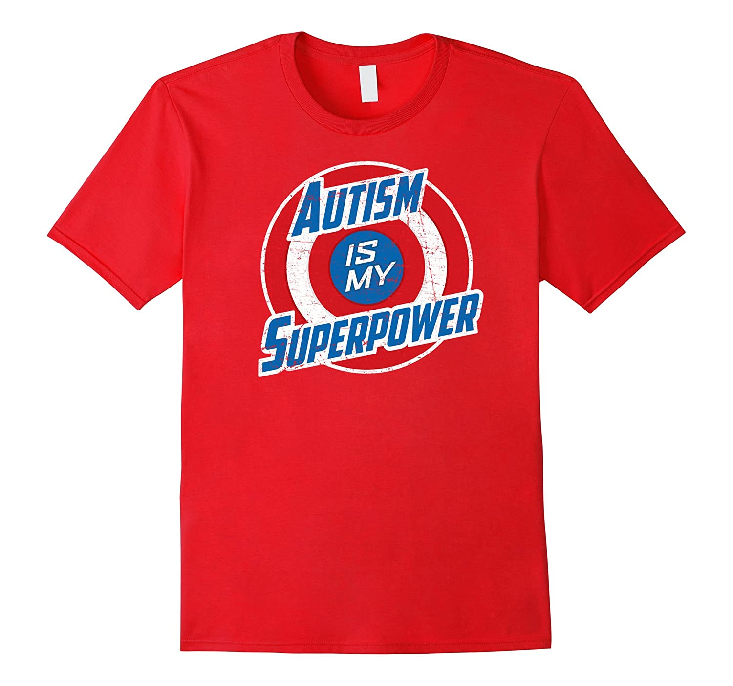 Autism Awareness Shirt Kids Autism Is My Superpower-CD