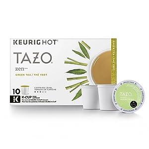 Tazo Zen Green Tea K-Cup (10 single-serve K-Cup Pods)