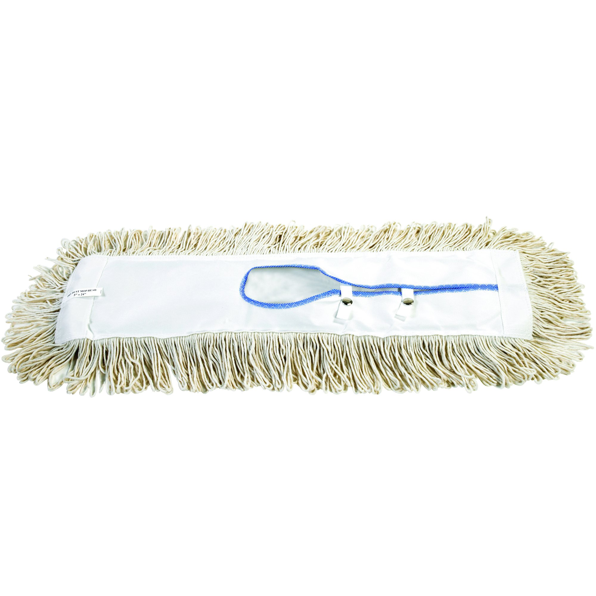 O-Cedar JAN136 24'' Economy Dry Dust Mop Replacement Heads (Pack of 12)