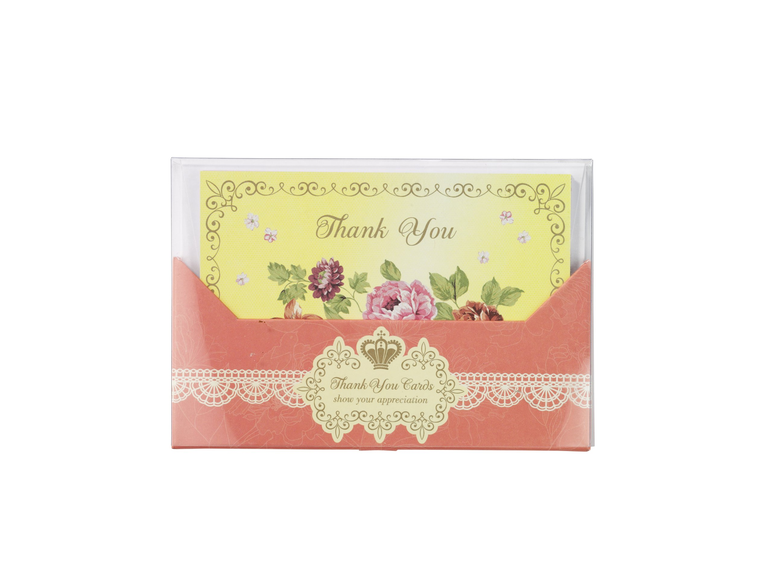 Talking Tables Truly Scrumptious Thank-you Cards for a Birthday or General Celebration, Multicolor