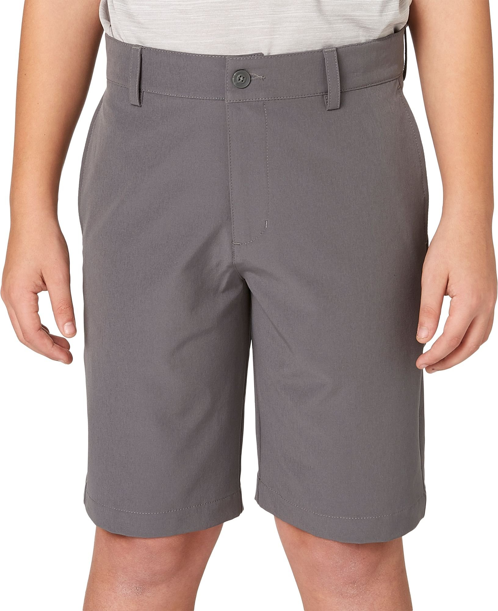 Slazenger Boys' Core Golf Shorts (Grey Castlerock, X-Large)
