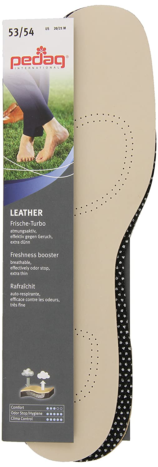Amazon.com: Pedag Sheepskin Insole with Activated Carbon, Tan, Extended Size US M20-21/EU 53-54: Health & Personal Care