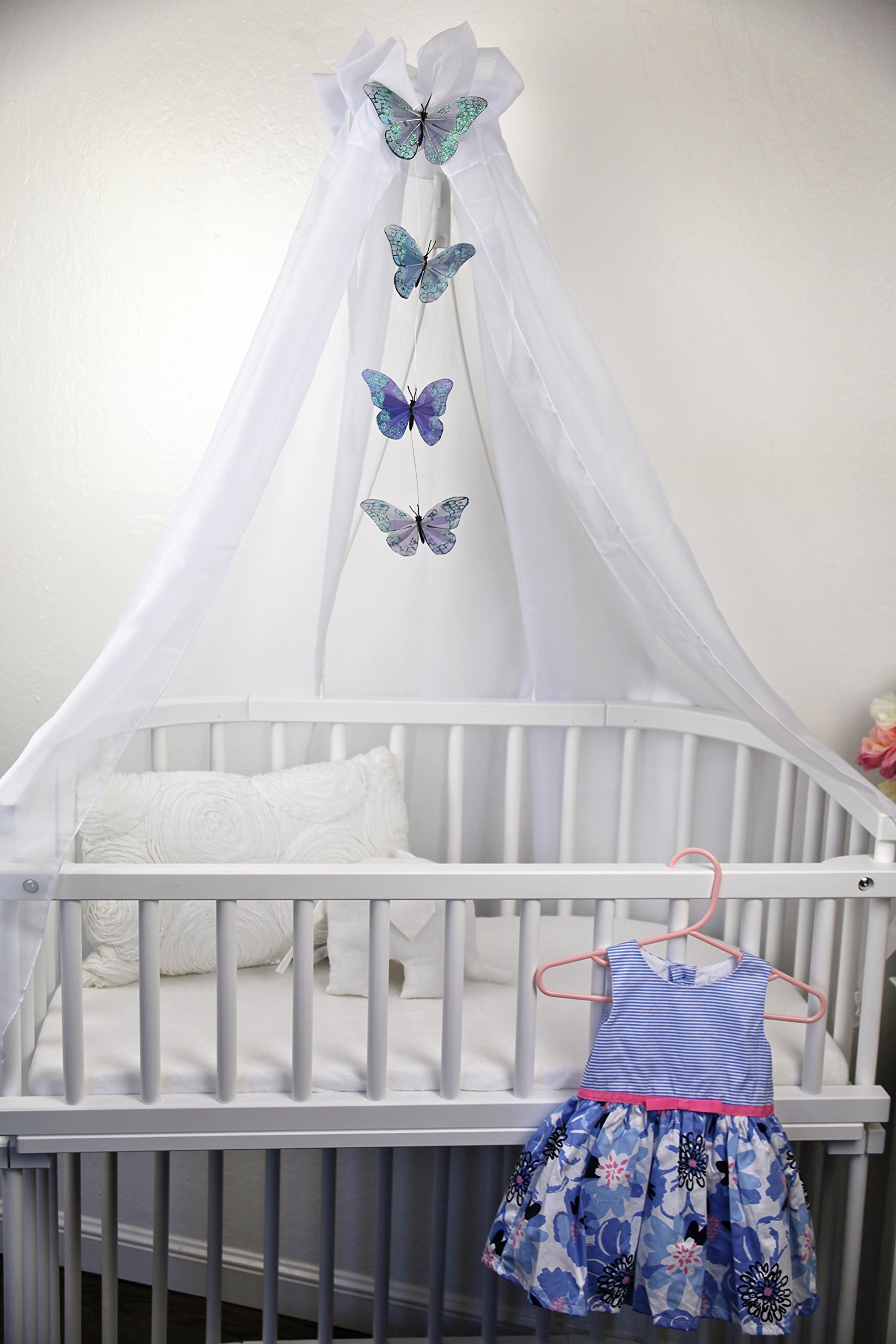 Canopy for babybay - All White by babybay (Image #3)