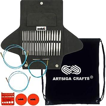 addi Click Basic Interchangeable Circular Knitting Needle Set