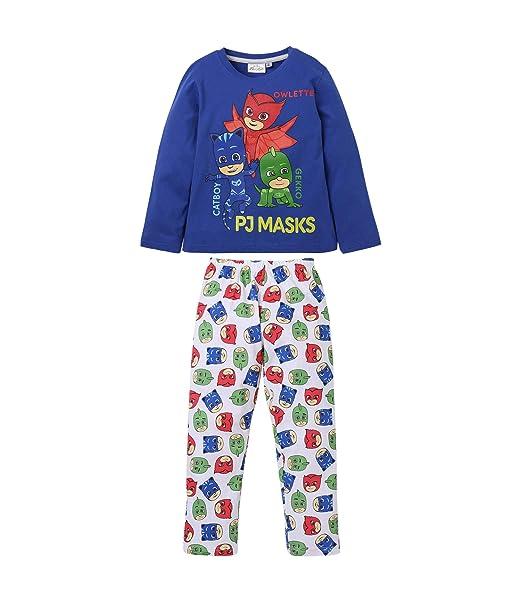 Pyjamasques 5406, Pijama para Niños, Azul Bleu, 3 años