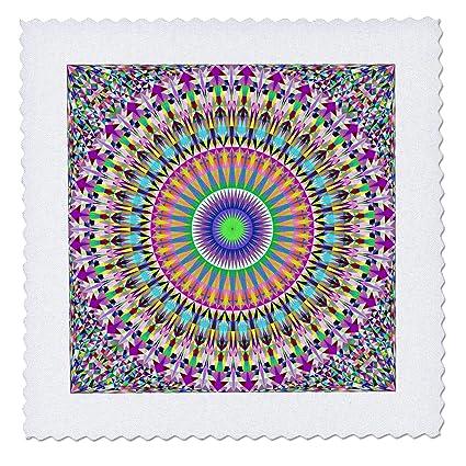 Amazon Com 3drose David Zydd Triangle Mandalas Colorful
