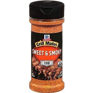 McCormick Grill Mates Sweet & Smoky Rub, 5.37 oz