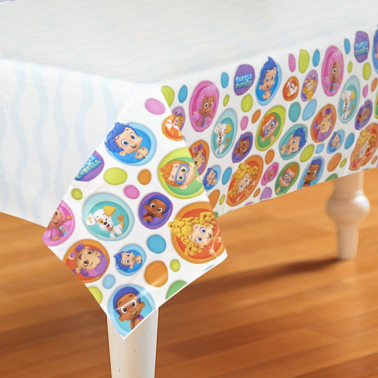 Bubble Guppies Plastic Table Cover 54in x 96in by American Greetings