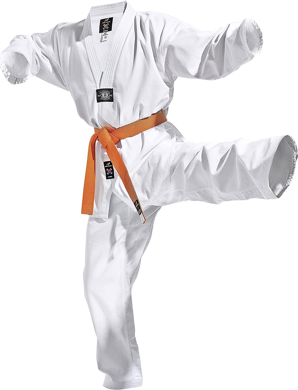 Taekwondo tuta poomse – Bianco INTERSPORT