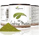 MATCHA para Cocinar 100g o 200g | Grado Culinario | NOVEDAD AHORA TAMBIÉN 200 g | Ideal para hornear recetas té verde cócteles batidos matcha latte | Bio orgánico ecológico vegavero
