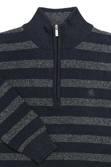 Kitaro Pullover Troyer Strick Pulli Knit Herren Langarm