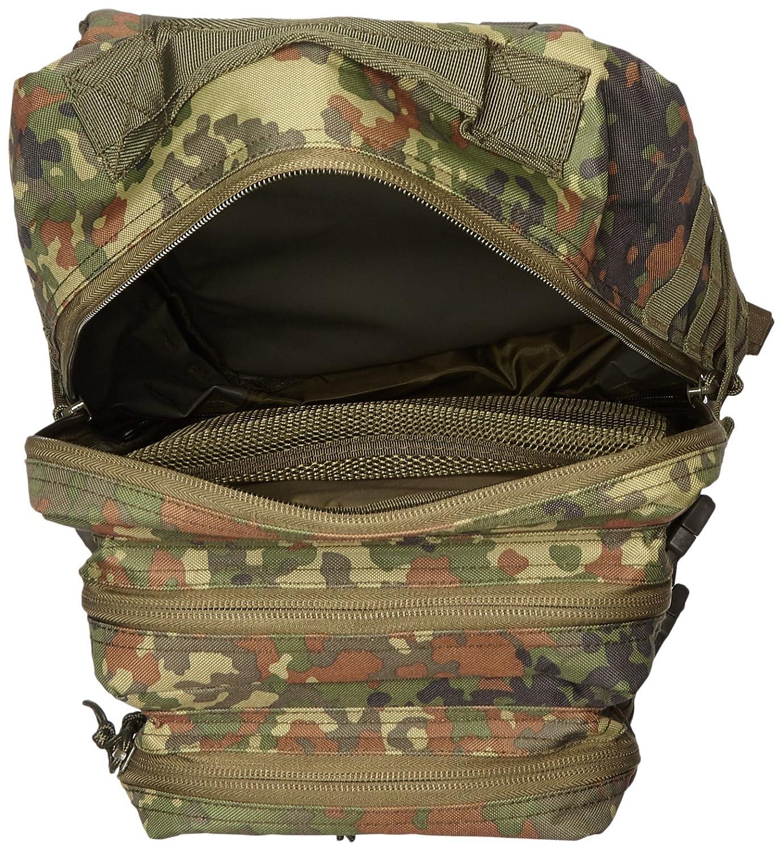 Mochila del ejército de los Estados Unidos, 50 litrosLitros., color - BW-Flecktarn, tamaño 50 l, volumen 50.0liters: Amazon.es: Deportes y aire libre