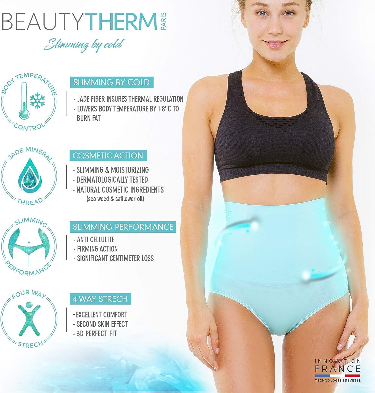 Culotte Gainante Femme Ventre Plat Technologie Fran/çaise Cosm/éto Jade BEAUTYTHERM Anti Cellulite Gaine Amincissante