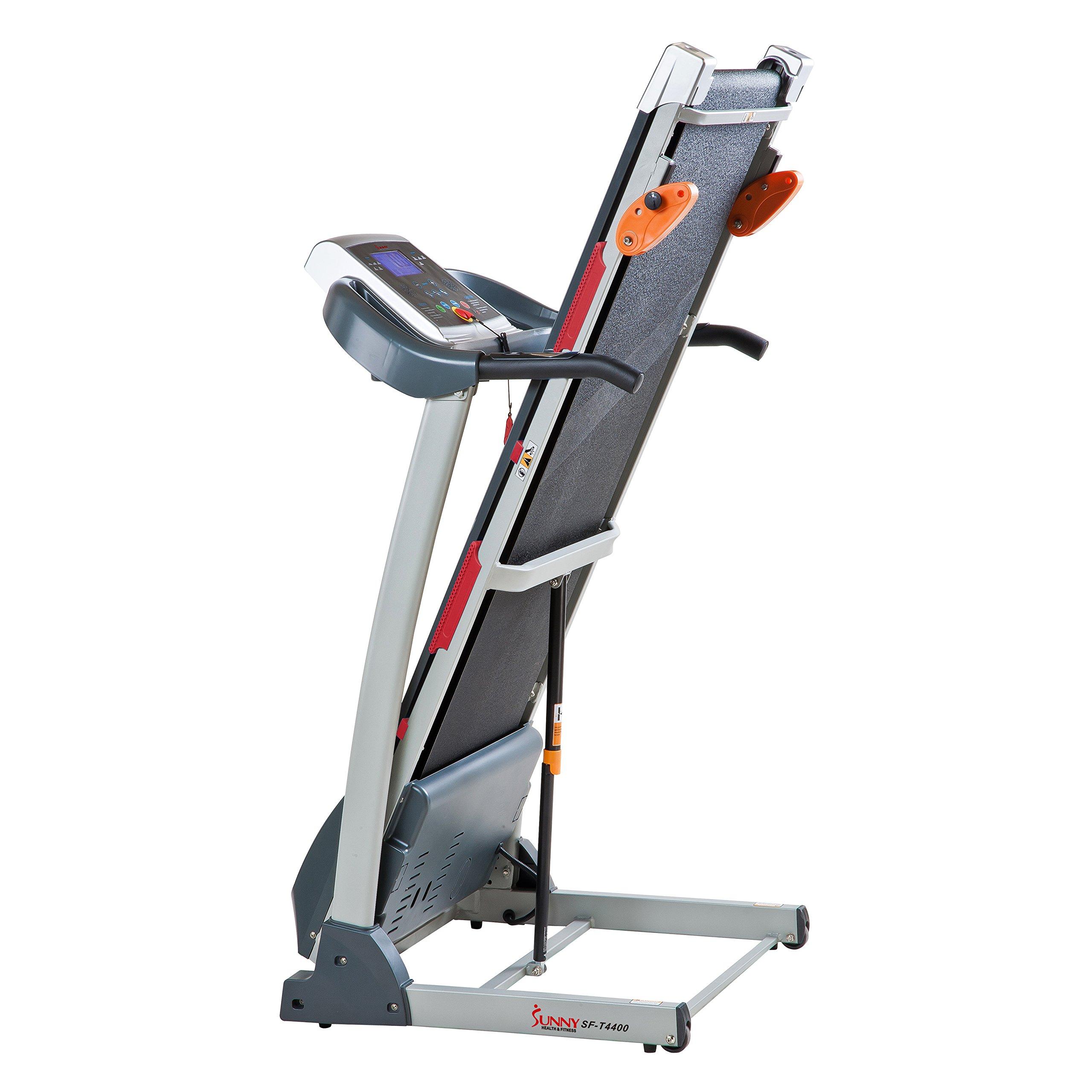 Sunny Health & Fitness Treadmill Folding Motorized Running Machine by Sunny Health & Fitness (Image #7)