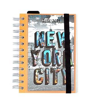 Grupo Erik Editores ADPW1801 - Agenda escolar en español New York, 11.4 x 16 cm