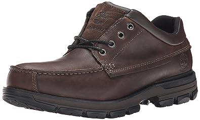 Timberland Men's Heston Low Oxford Waterproof Boot, Dark Brown, ...
