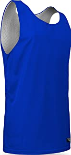 product image for Game Gear AM-993 Men's Tank Top Athletic Nylon Mesh Sports Jersey-Uniform is Reversible to White (X-Large, Royal/White)