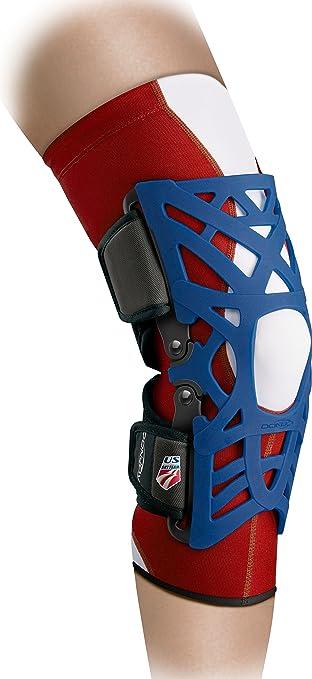 c26f6f098d DonJoy Reaction WEB Knee Brace, Limited Edition U.S. Ski Team, Medium/Large