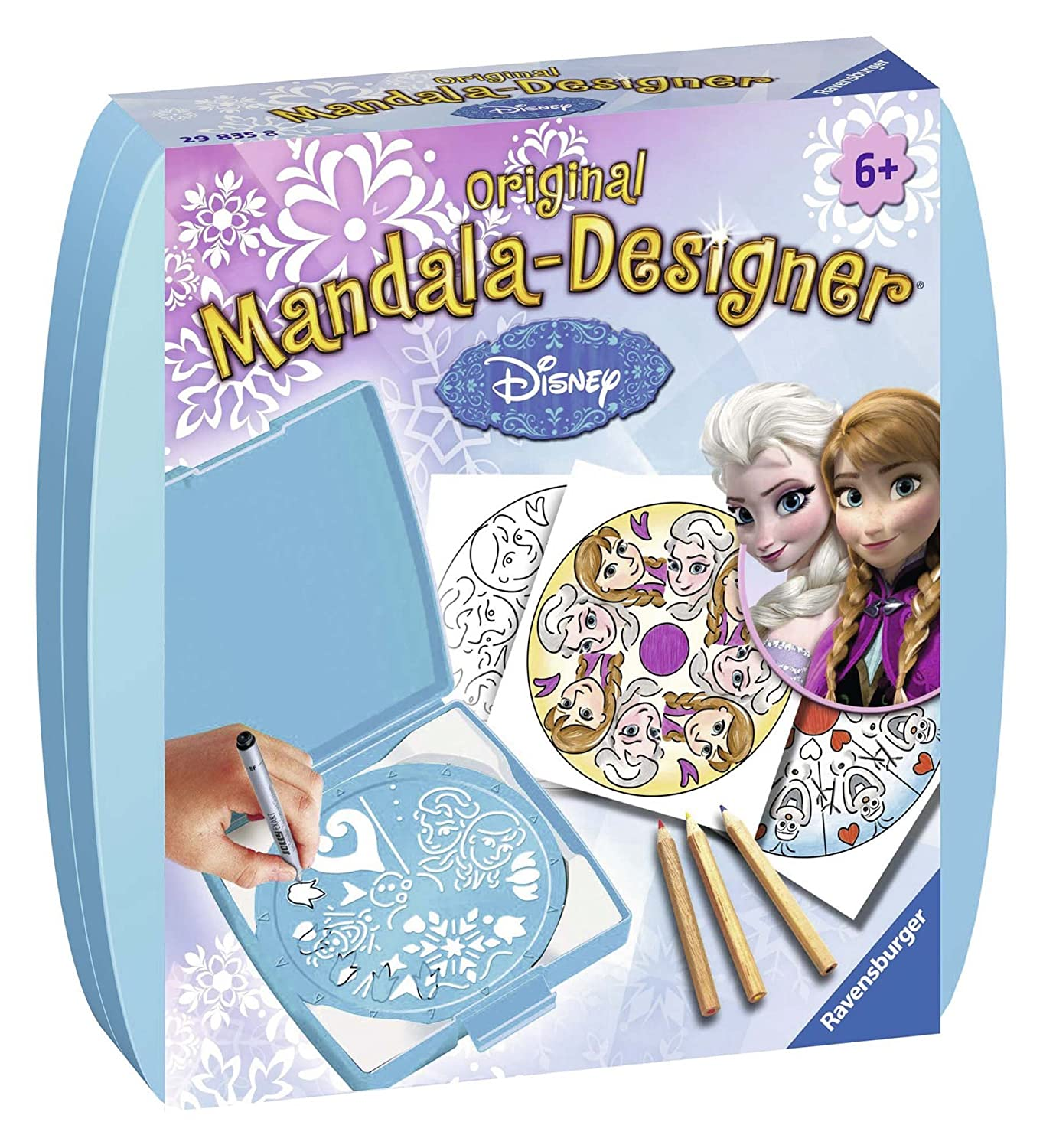 Ravensburger Disney Frozen Mini Mandala - Designer - Kids' Spirographs (Multi) 29835