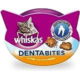 Dentabites de higiene oral de uso diario para gatos de 40g | [Pack de 8