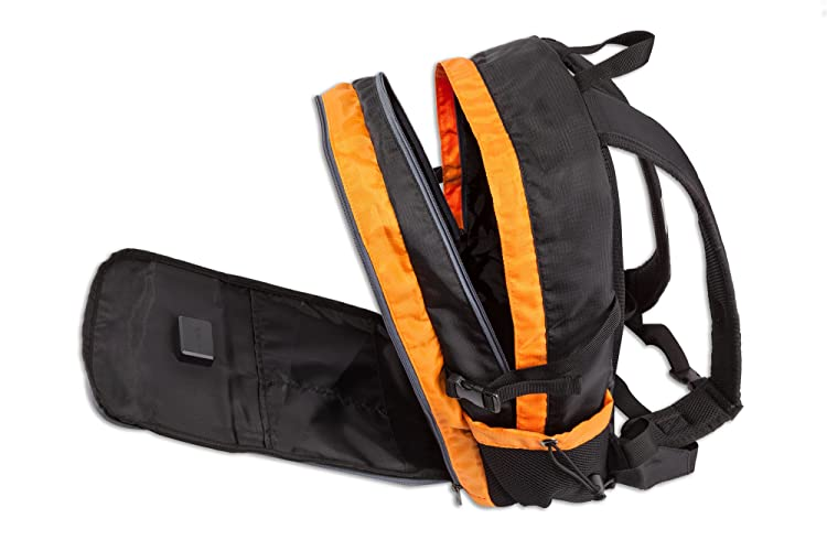 EnerPlex solar Backpack, Orange