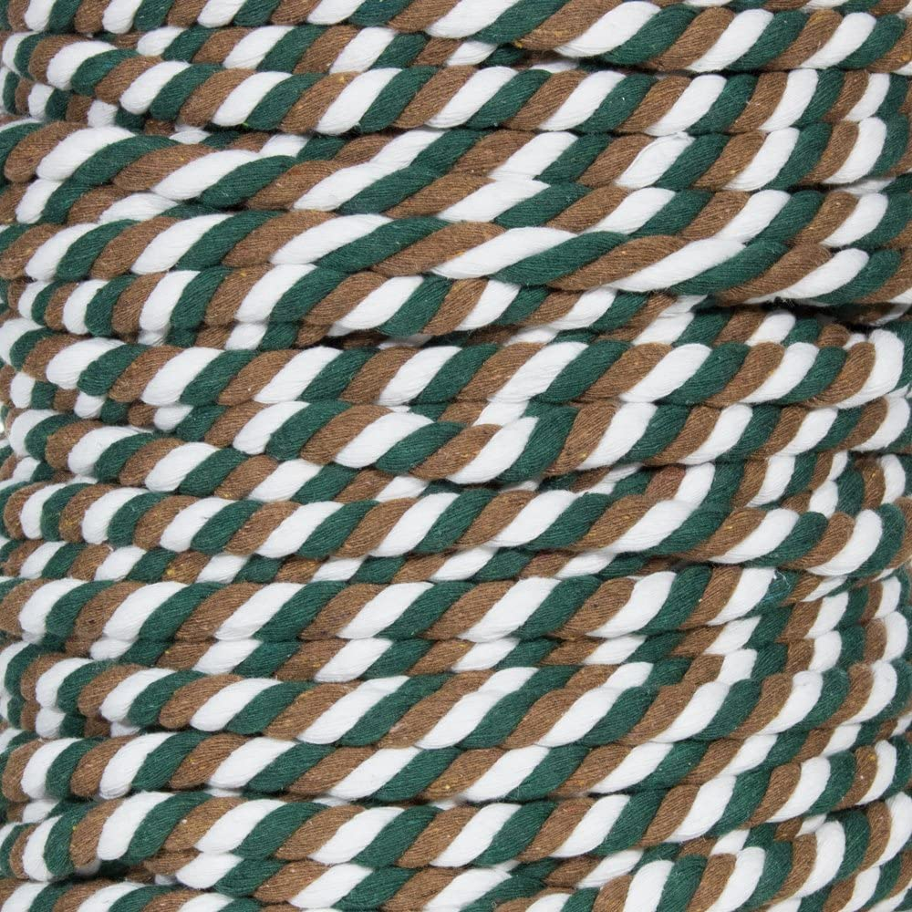 Custom Art Super Soft 3 Strand Twisted Cotton Rope and Much More Backwoods Camo, 1//2 Inch Diameter X 10 Feet DIY Crafting Great for Home Decoration