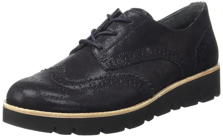 Gabor Shoes Comfort Sport, Derby para Mujer 37 EU Azul (35 Nightblue S.s/C)