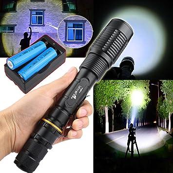 Amazon Garberiel 4000 Lumen Xml T6 Led 18650 Flashlight