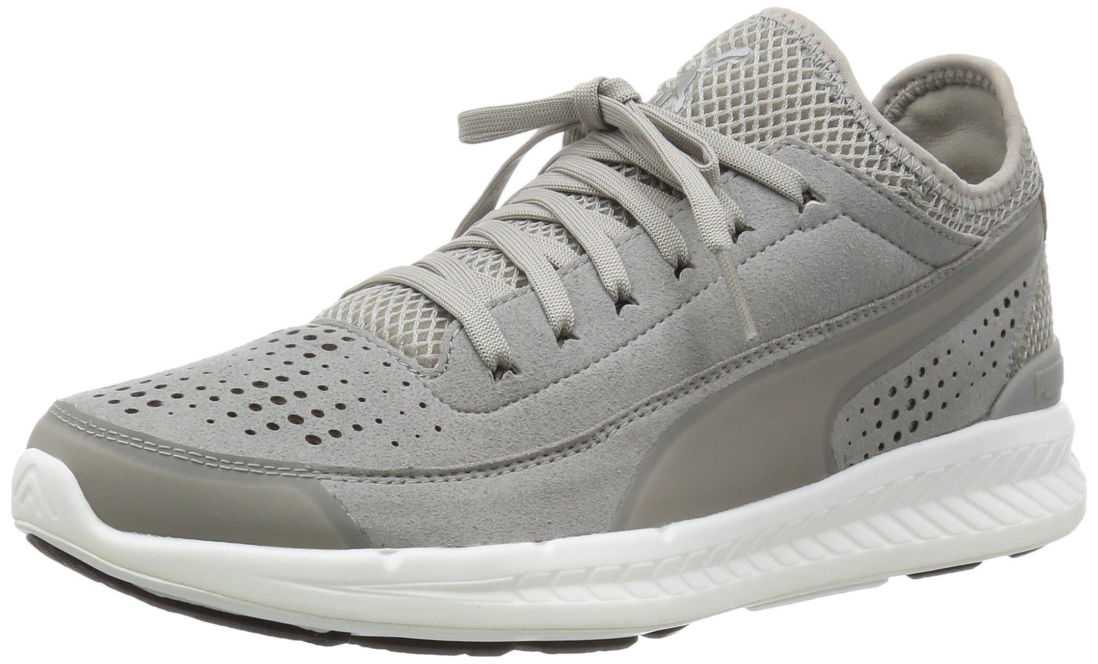 PUMA Ignite Sock Men Running Shoes Fitness Jogging 360570 02 grey, shoe size:EUR 42