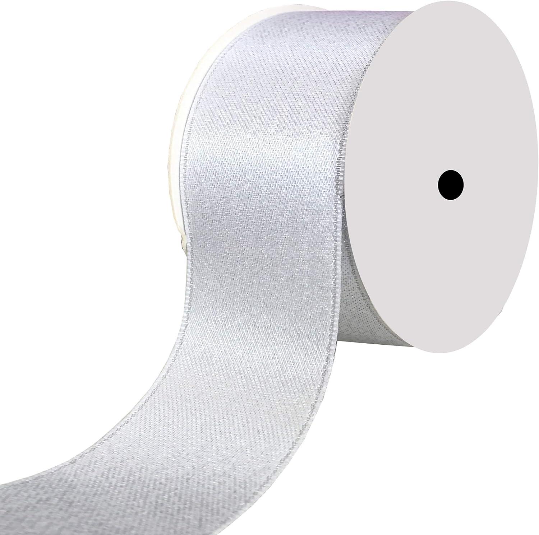 """Satin Ribbon 5//8/"""" Wide 100 Yd Yard Roll Solid Reels Party ru Black"""