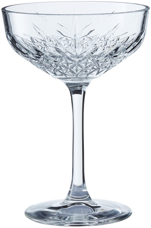 Trasparente Pasabahce Set 4 Coppe Timeless Champagne 27 Arredo Tavola Vetro