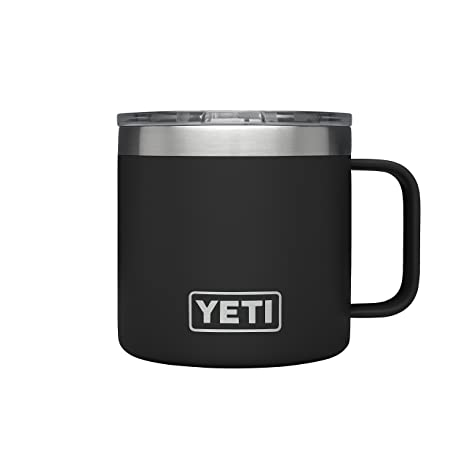 amazon com yeti rambler 14 oz stainless steel vacuum insulated mug