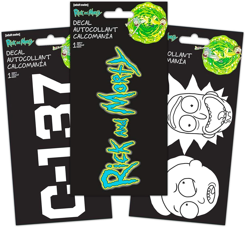 Decal Set - Bundle Includes 3 Premium Stickers Room Decor, Car, Laptop (Merchandise)