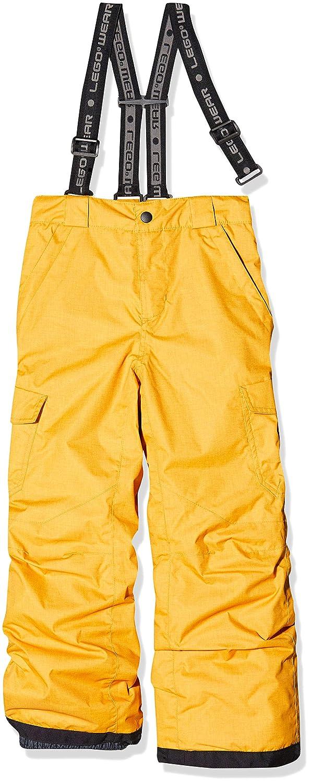 Yellow 270 LEGO Wear Lego Tec Cool Lwplaton 704-Skihose//schneehose Pantaloni da Neve 122 Bambino Giallo