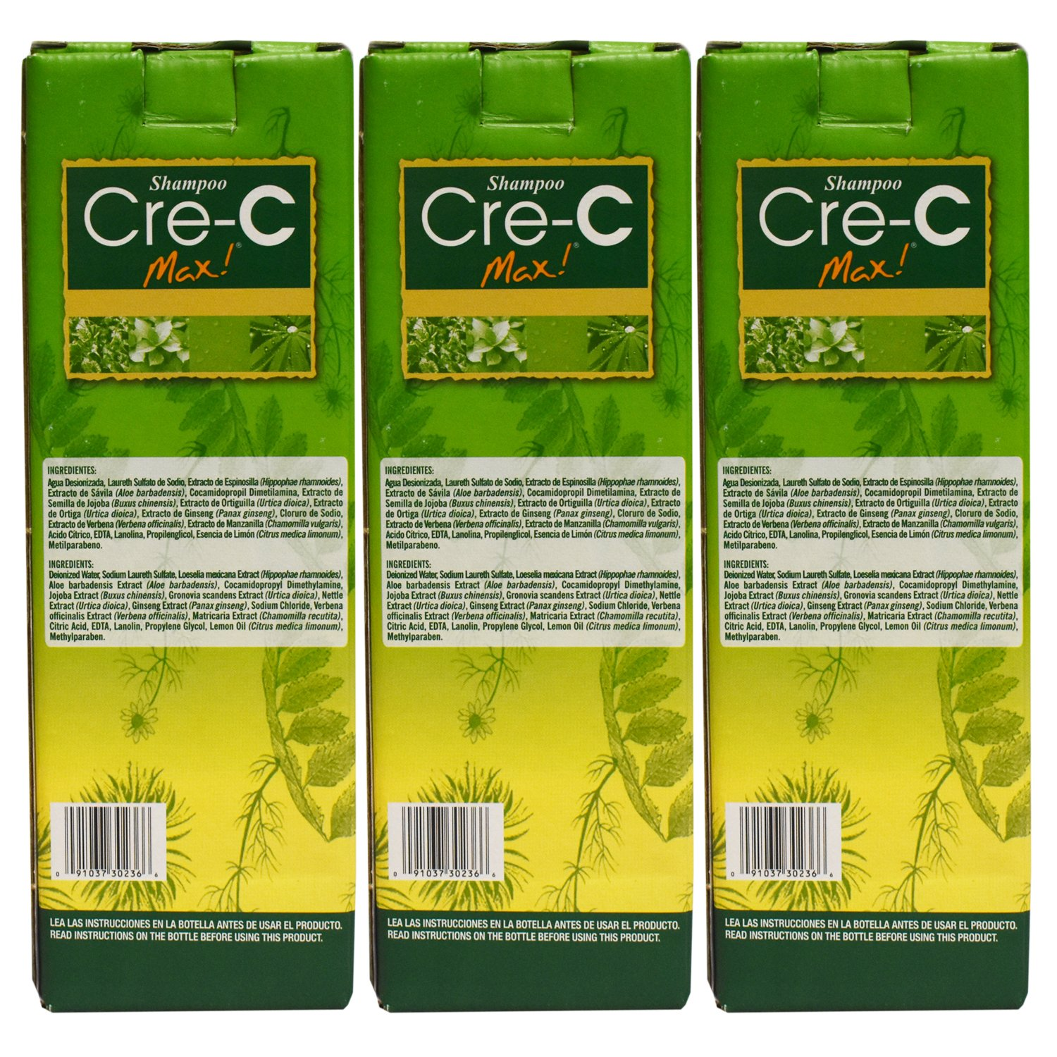 Shampoo Cre-C (3 pack) 8.45 oz by Cre-C (Image #2)