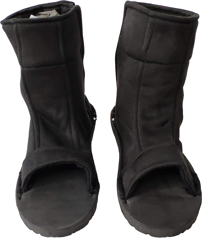 OURCOSPLAY Black Shippuden Ninja Shinobi Shoes [US 5 - US 11] [ Adult/Child ]
