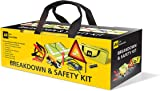 AA 5595 Breakdown & Safety Kit with Footpump - Multicolor