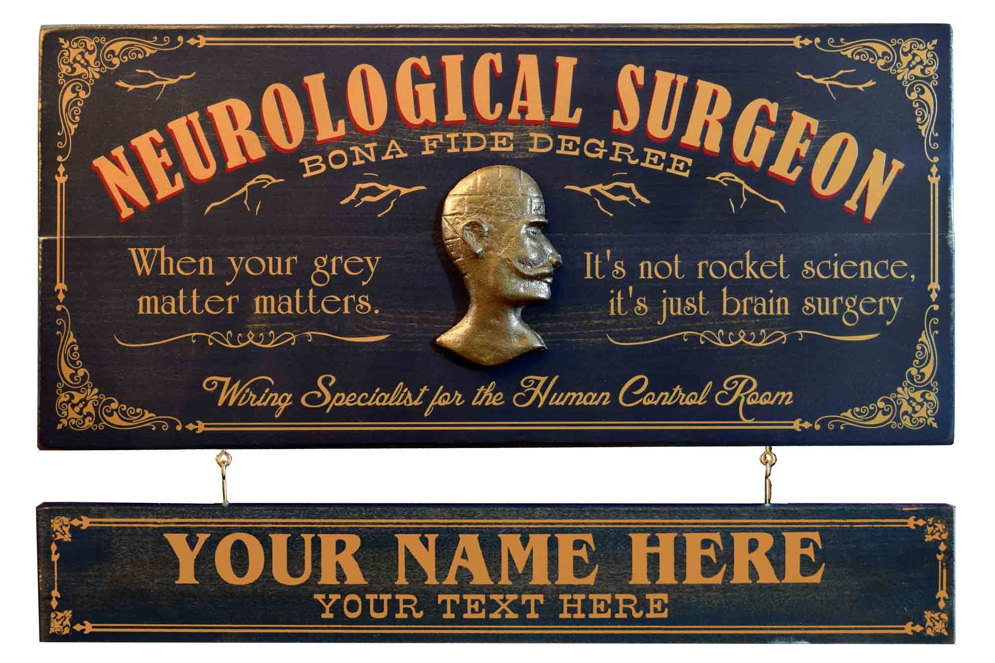 Neurosurgeon Occupational Sign (OC61)