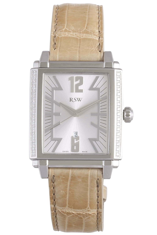 RSW Herren-Armbanduhr XL Hampstead Analog Leder 9220.BS.A5.5.D1