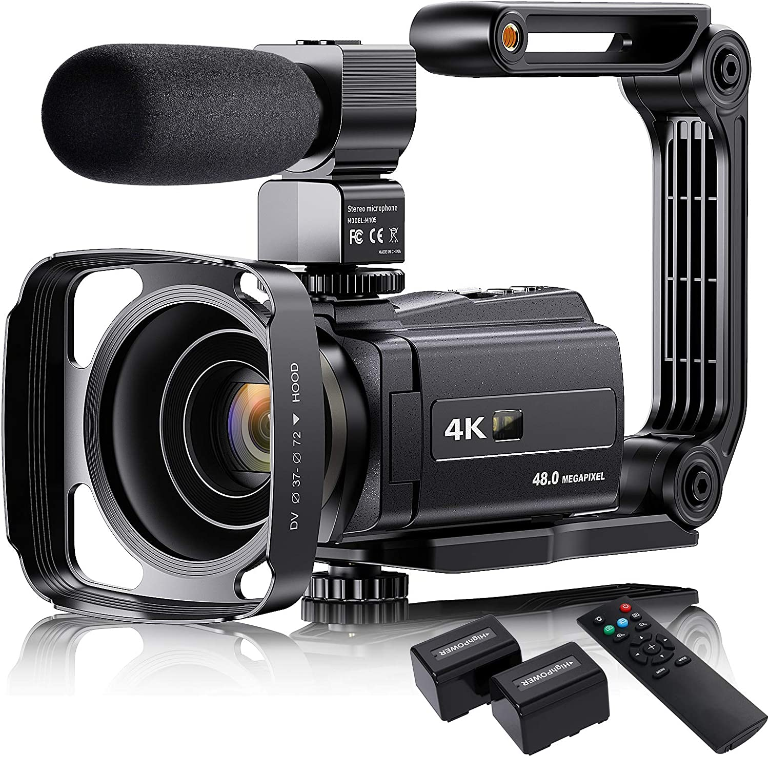 VAFOTON Camcorder with Microphone