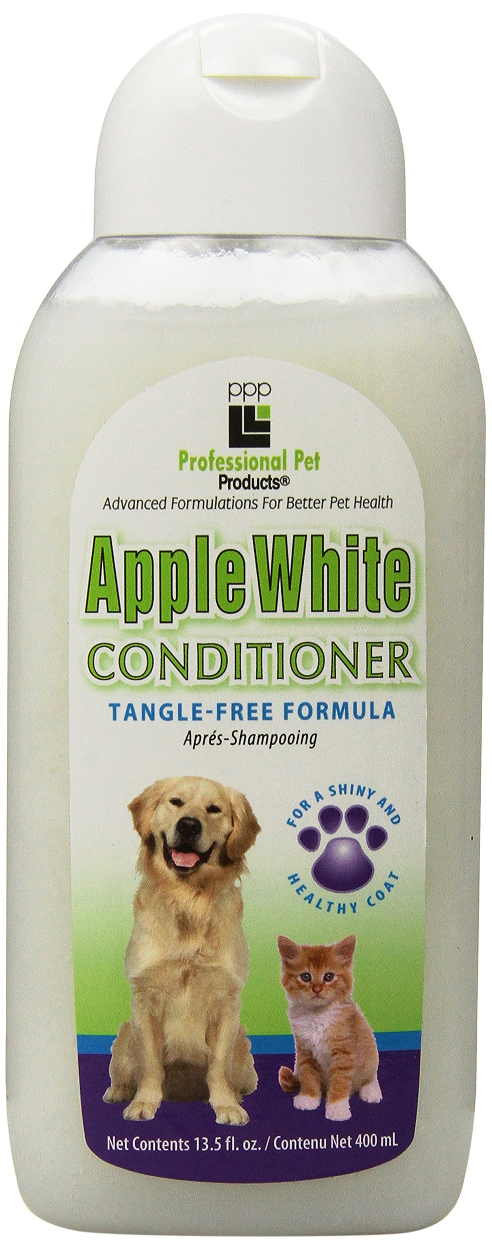 PPP Pet Apple White Cream Rinse, 13-1/2-Ounce