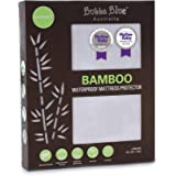 Bubba Blue Bamboo Mattress Bassinet Protector, White