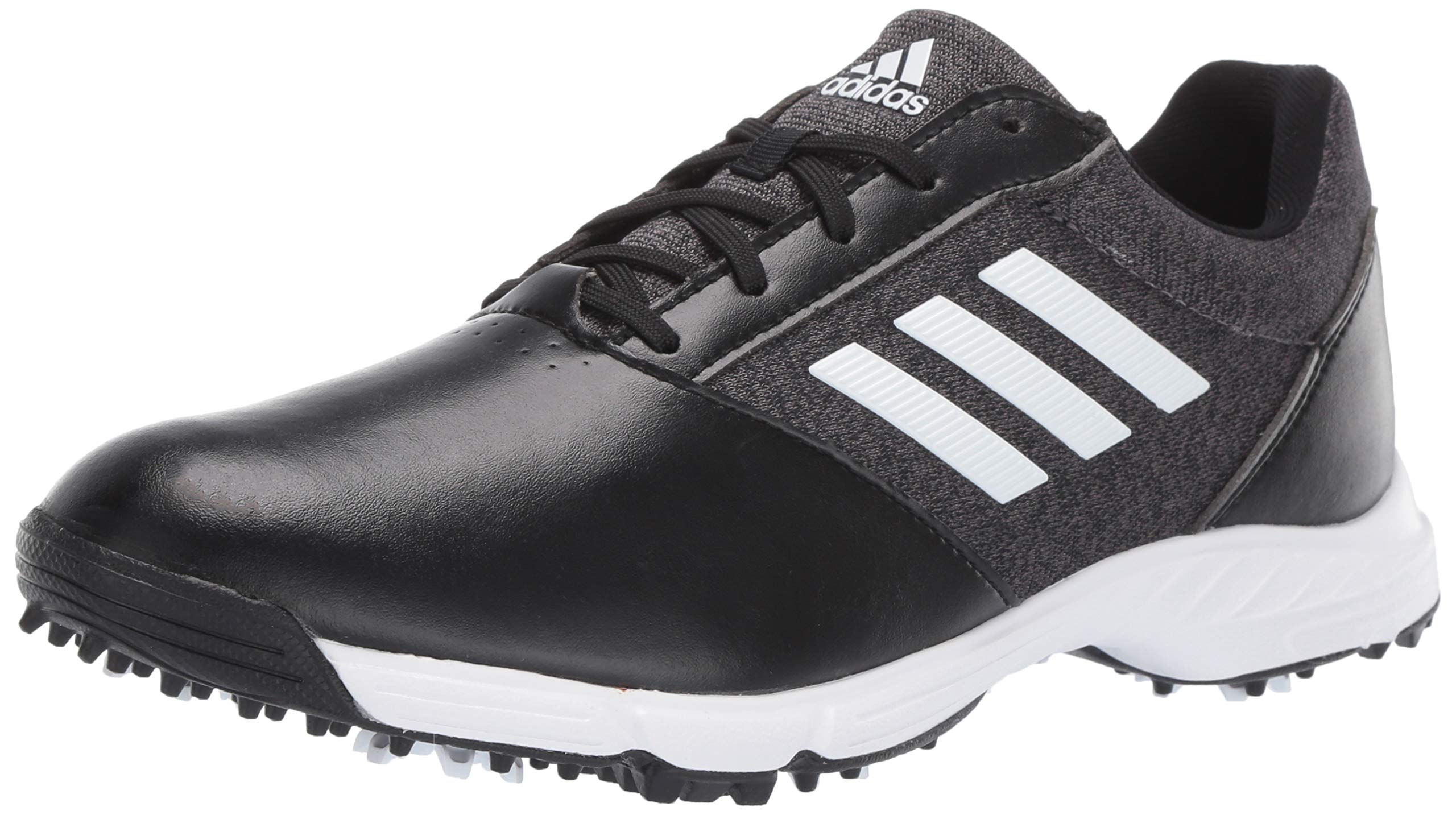 adidas Womens TECH Response Golf Shoe black/silver metallic/grey five 7 M US by adidas