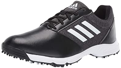 81381d6fefa7 adidas Womens TECH Response Golf Shoe black silver metallic grey five 5 M US