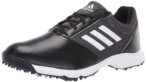4d805a2a08fc Adidas Womens TECH Response Golf Shoe Black Silver Metallic Grey Five 5 M US