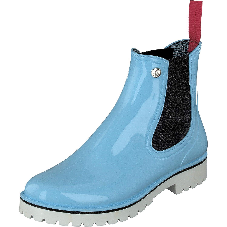 chaussures Gosch Clair Bleu bottes Femme Chelsea