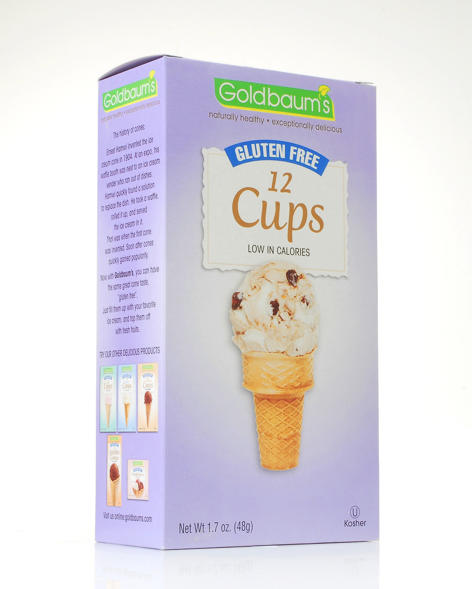 Goldbaum's Gluten Free Ice Cream Cone Cups by Goldbaum's