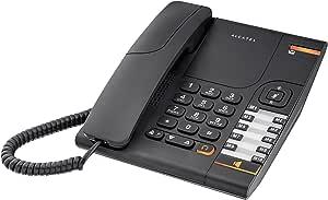 Alcatel Temporis 380 - Teléfono Fijo, Color Negro: Alcatel: Amazon.es: Electrónica