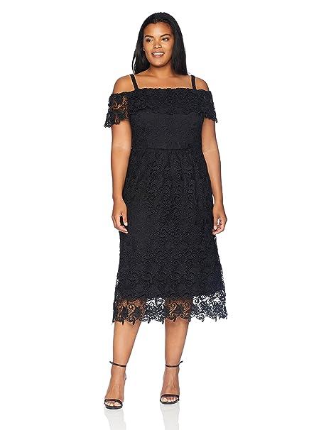 City Chic Women\'s Apparel Women\'s Plus Size Dress Spring Day
