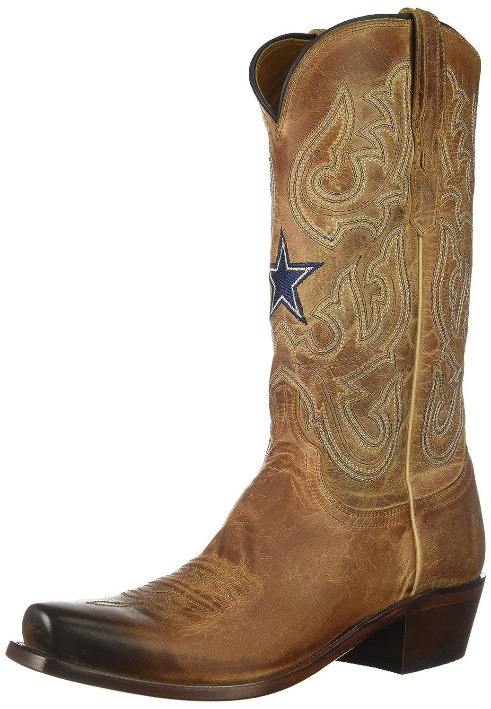 Tan Lucchese Bootmaker Men's Drew Western Boot,